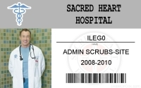 Sacred Heart Scrubs
